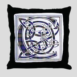 Monogram - Carnegie Throw Pillow