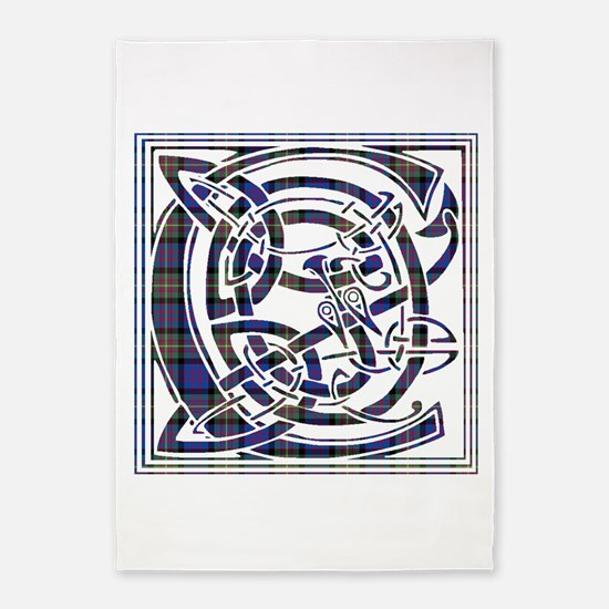Monogram - Carnegie 5'x7'Area Rug
