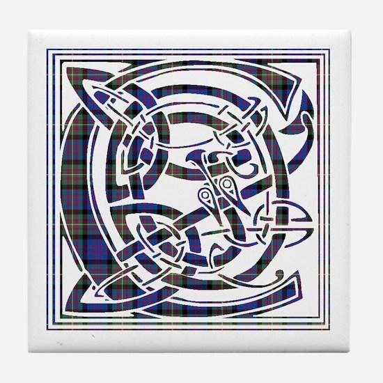 Monogram - Carnegie Tile Coaster