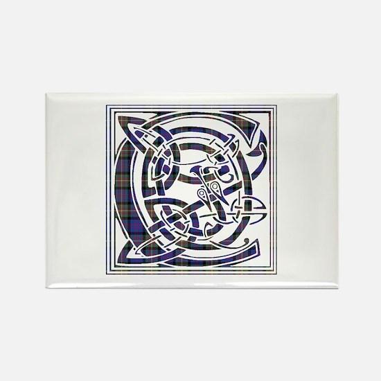 Monogram - Carnegie Rectangle Magnet