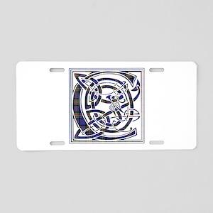 Monogram - Carnegie Aluminum License Plate