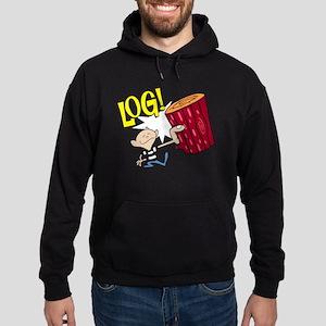 LOG! Hoodie (dark)