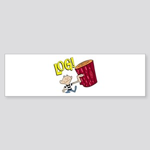 LOG! Bumper Sticker