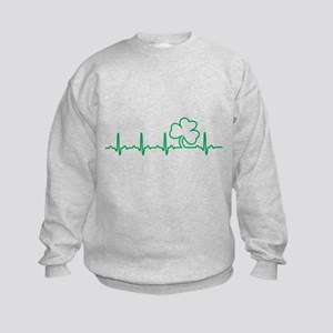 Irish Heartbeat, Irish at Heart Sweatshirt