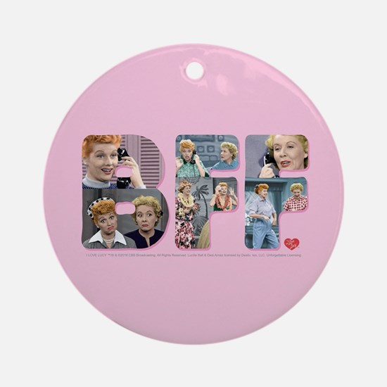 I Love Lucy: BFF Round Ornament