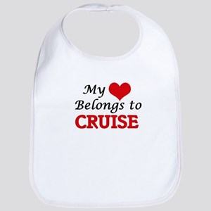 My Heart belongs to Cruise Bib