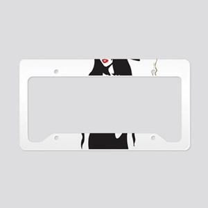 halloween sexy witch License Plate Holder