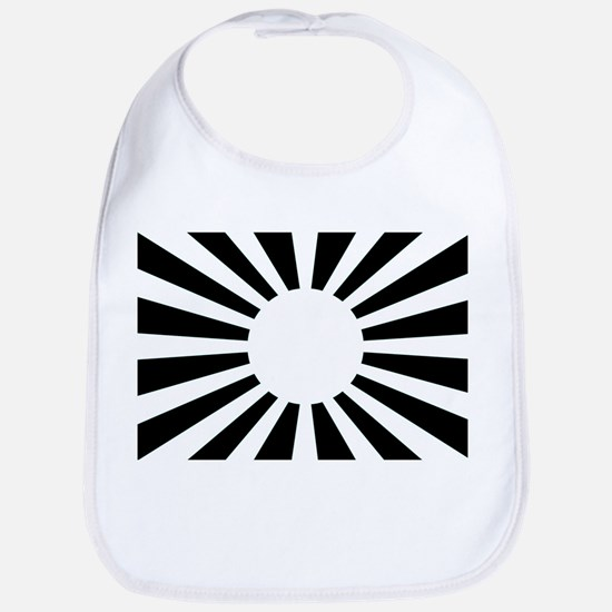 Japanese Rising Sun Flag - Flag of Japan Bib