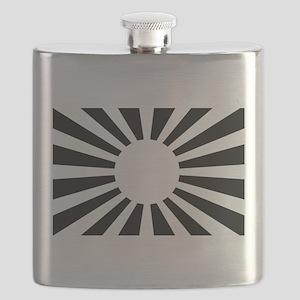 Japanese Rising Sun Flag - Flag of Japan Flask