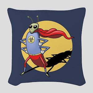 Superbug Woven Throw Pillow