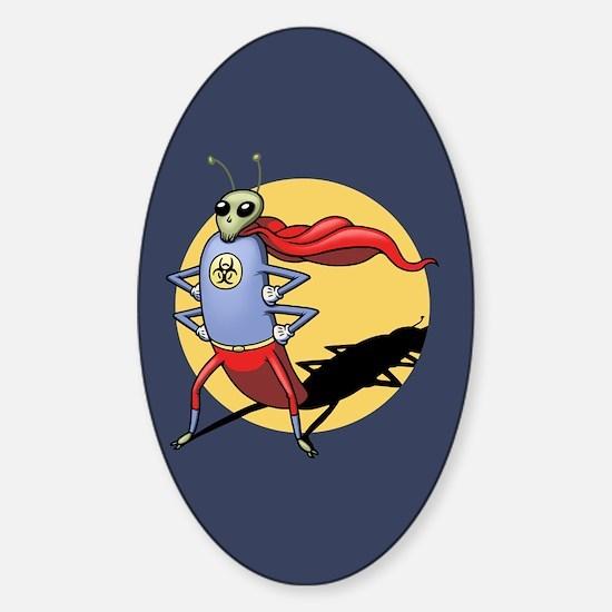 Superbug Sticker (Oval)