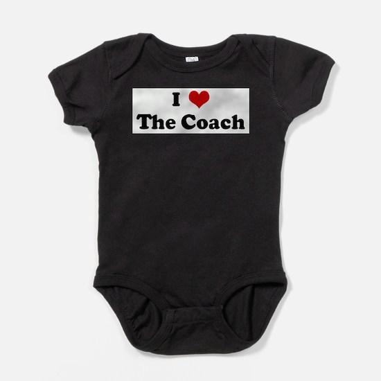 Unique The coach design Baby Bodysuit