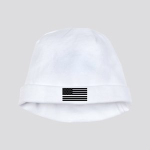 EMS: Black Flag & Thin White Line baby hat