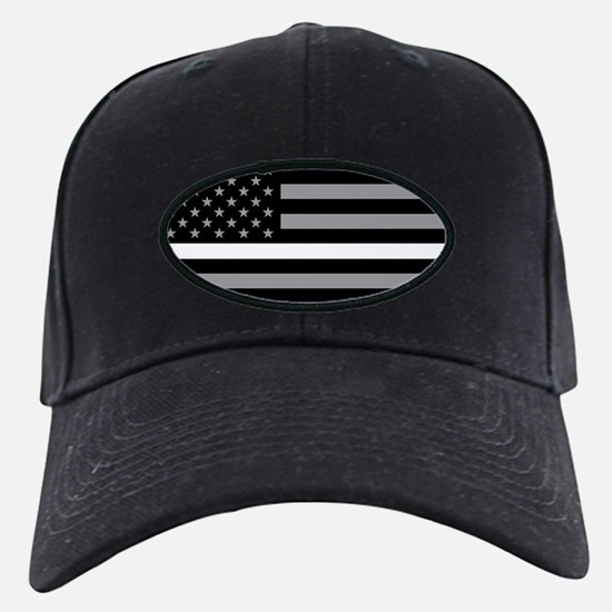 EMS: Black Flag & Thin White Line Baseball Hat