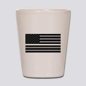 EMS: Black Flag & Thin White Line Shot Glass