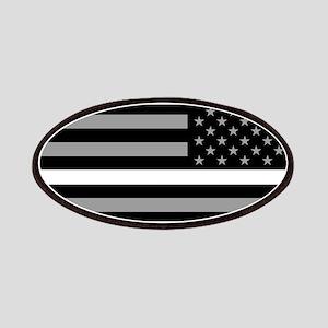 EMS: Black Flag & Thin White Line (Reverse) Patch