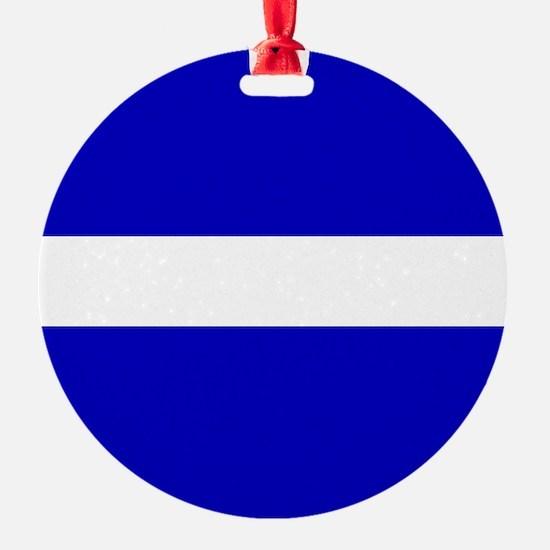 EMS: The Thin White Line Ornament