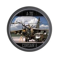 A-7D Corsair II Aircraft Wall Clock