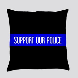 Police: Support Our Police & The T Everyday Pillow