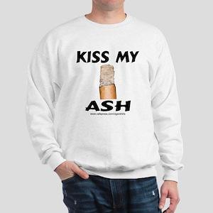 Kiss My Ash Cigar Sweatshirt
