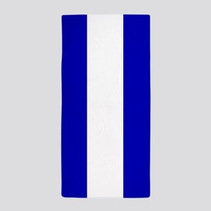EMS: The Thin White Line Beach Towel