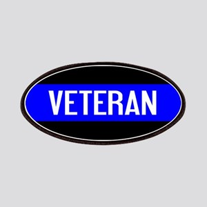 Police: Veteran & The Thin Blue Line Patch