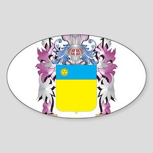 Noireault Coat of Arms - Family Crest Sticker