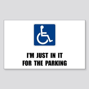Handicap Parking Sticker