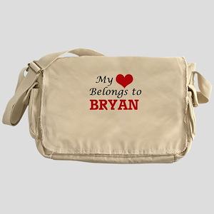 My Heart belongs to Bryan Messenger Bag