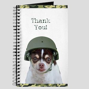 Thank You Military Chihuahua Journal
