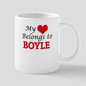 My Heart belongs to Boyle Mugs