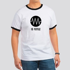 Resistance Symbol is Futile (Light) T-Shirt