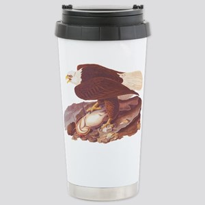 Bald Eagle Vintage Audubon Art Travel Mug