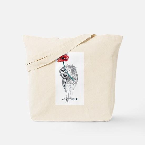 Owl & Poppy Tote Bag
