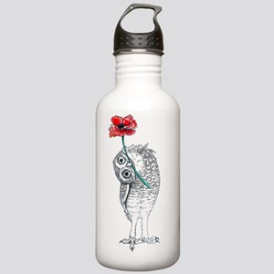 Owl & Poppy Water Bottle
