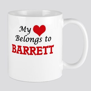 My Heart belongs to Barrett Mugs