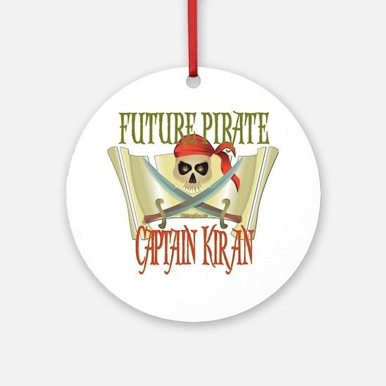 Captain Kiran Ornament (Round)