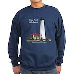 Crisp Point Lighthouse Sweatshirt (dark)