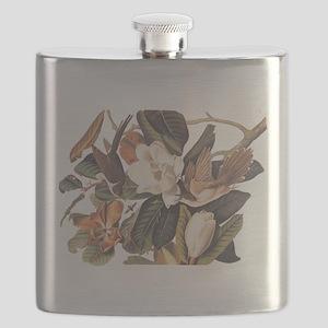 Black Billed Cuckoo Birds of America Flask