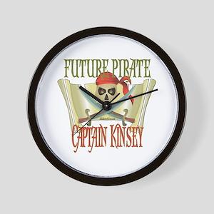 Captain Kinsey Wall Clock