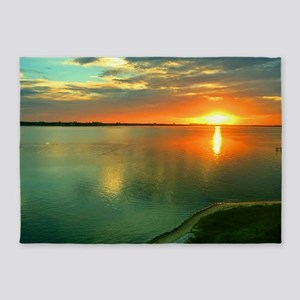 Sky High Sunset 5'x7'Area Rug