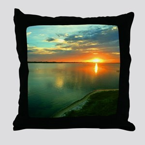 Sky High Sunset Throw Pillow