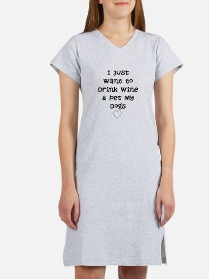 Unique Funny pet Women's Nightshirt