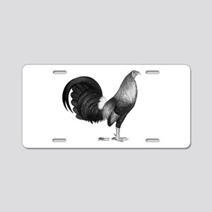 Gamecock Red Hatch Rooster Aluminum License Plate