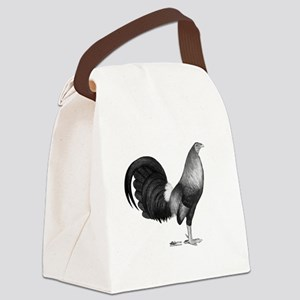 Gamecock Red Hatch Rooster Canvas Lunch Bag