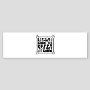 Anatolian Shepherd dog Dog Make M Sticker (Bumper)