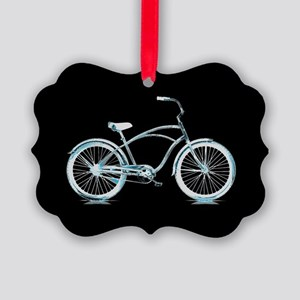 Iceberg Bike Picture Ornament