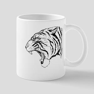 Tiger Roaring Mugs