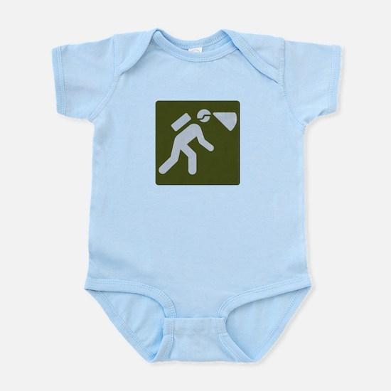 Spelunking sign Infant Bodysuit