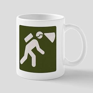 Spelunking sign Mug